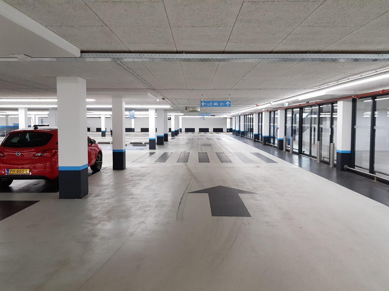 Parkeergarage Wendelaarstraat Alkmaar