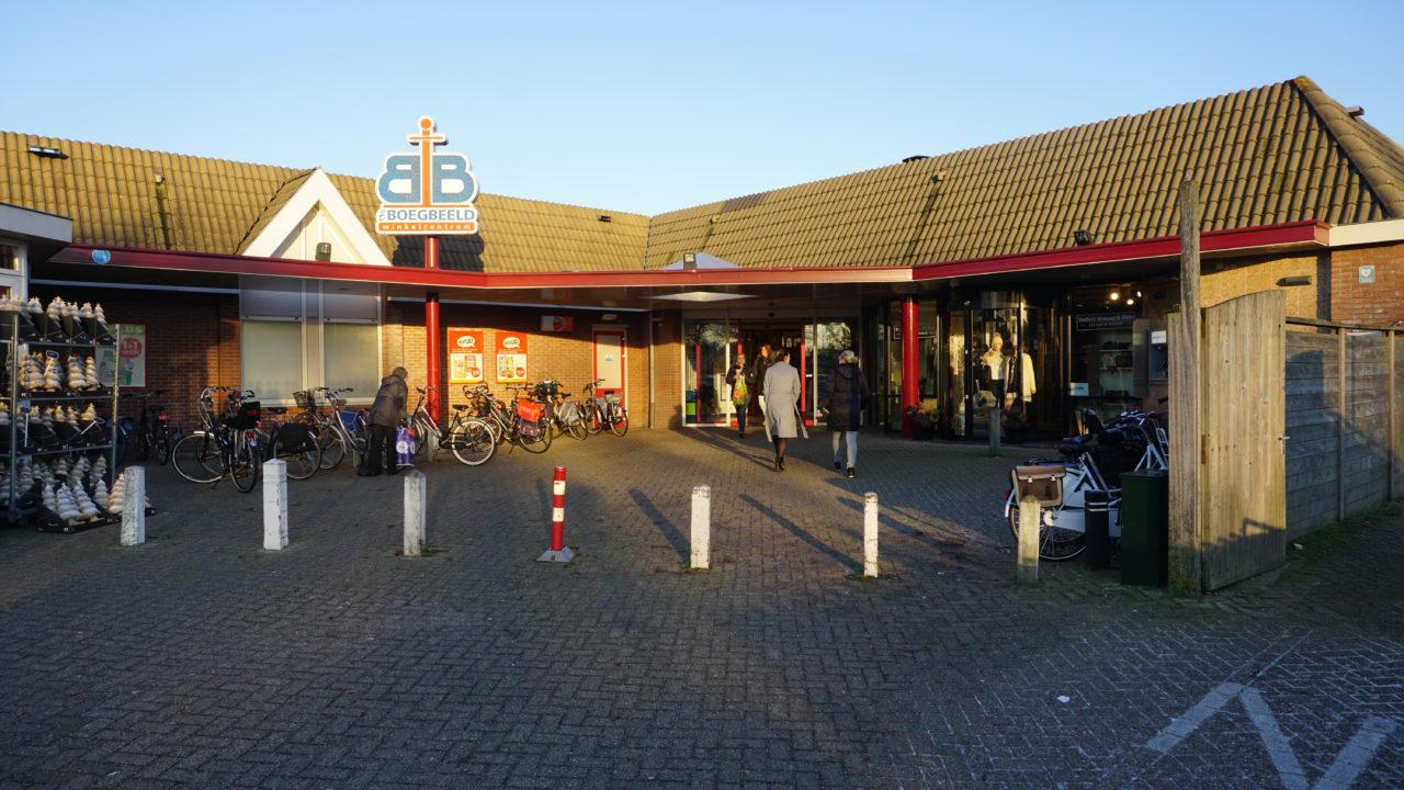 Winkelcentrum Boegbeeld - De Rijp